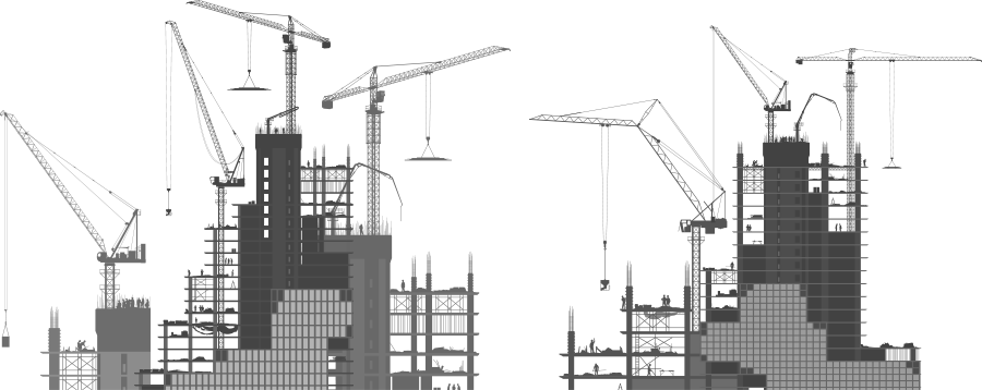The buildings featured on the cobuilder contact page
