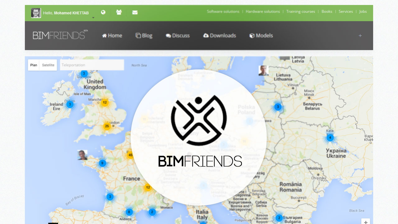 From France to the world with BIM friends!