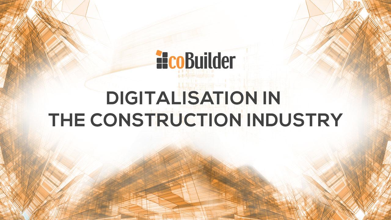 Digitalisation in construction