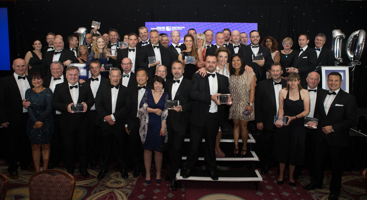 coBuilder's Nick Tune among the winners of the Constructing Excellence Awards Wales 2016